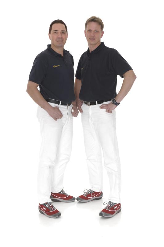 Geschäftsführer Maik Scholz und Ralph Schnoor