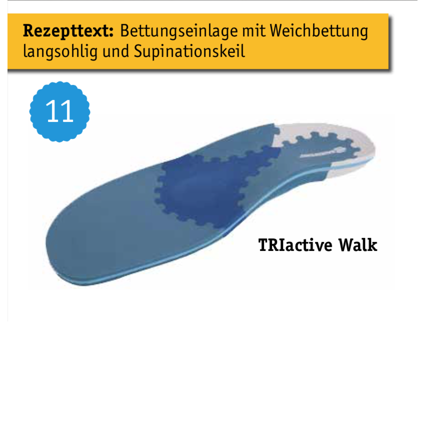 Fußeinlagen von Gutgesell