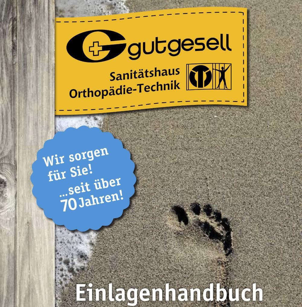 Fußeinlagenhandbuch zum Download von Gutgesell